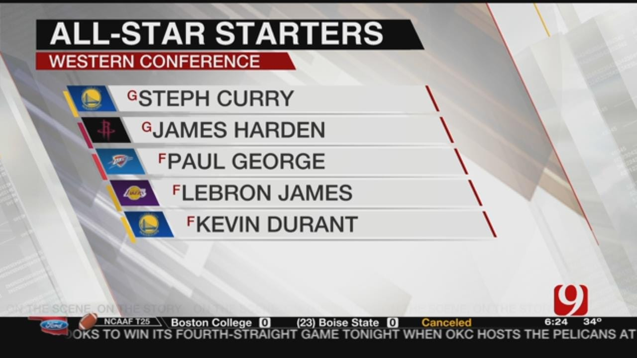 Paul George Selected As Starter For NBA All-Stars