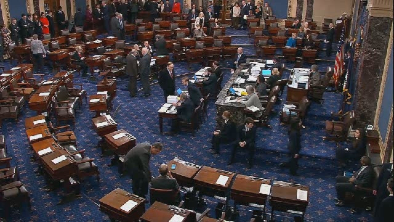 2 Bills Aiming To Reopen Government Fail In Senate