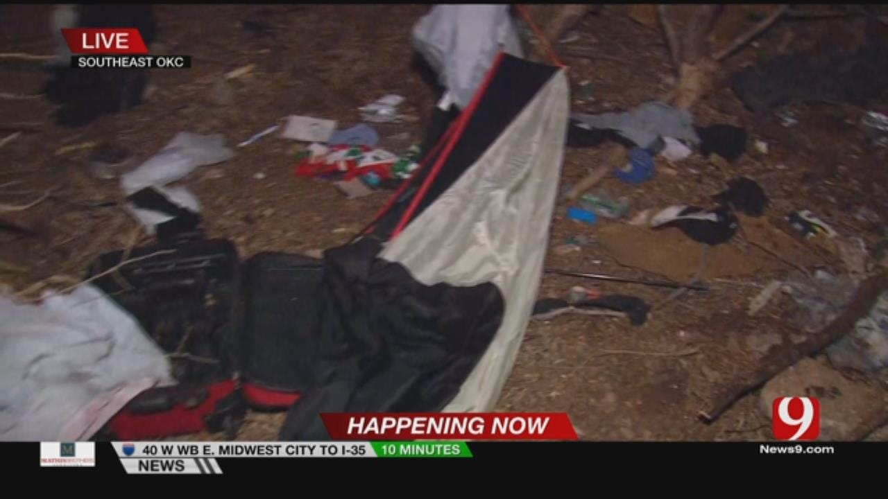 Multiple Agencies Team Up To Count Number Of Homeless In OKC