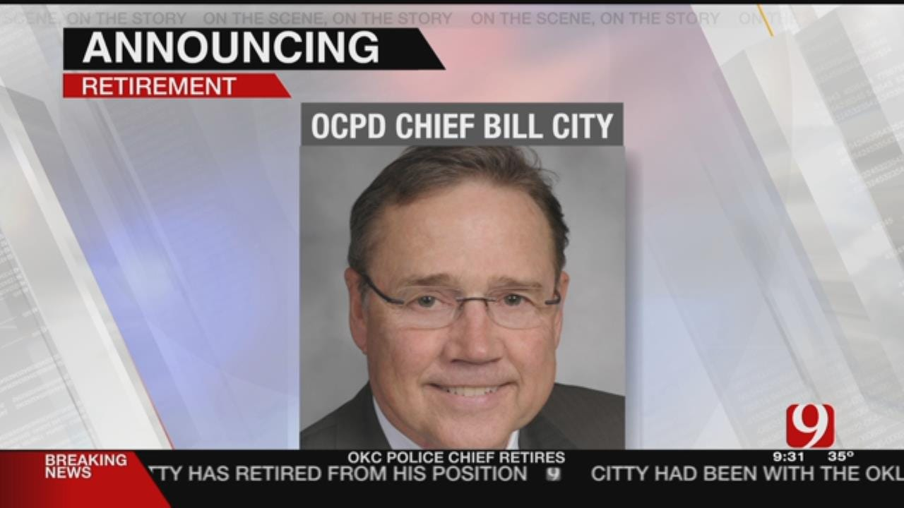 OKC Police Chief Bill Citty Announces Retirement