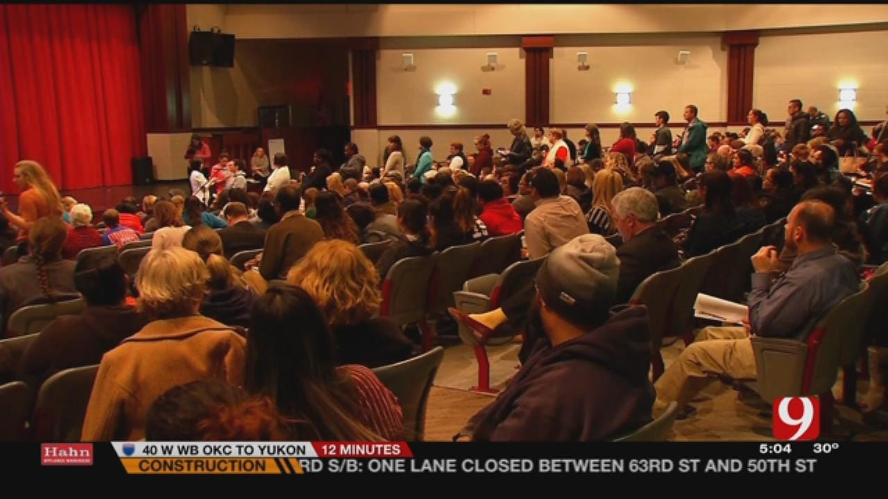 Teachers, Parents Voice Concerns On OKCPS 'Pathway To Greatness'