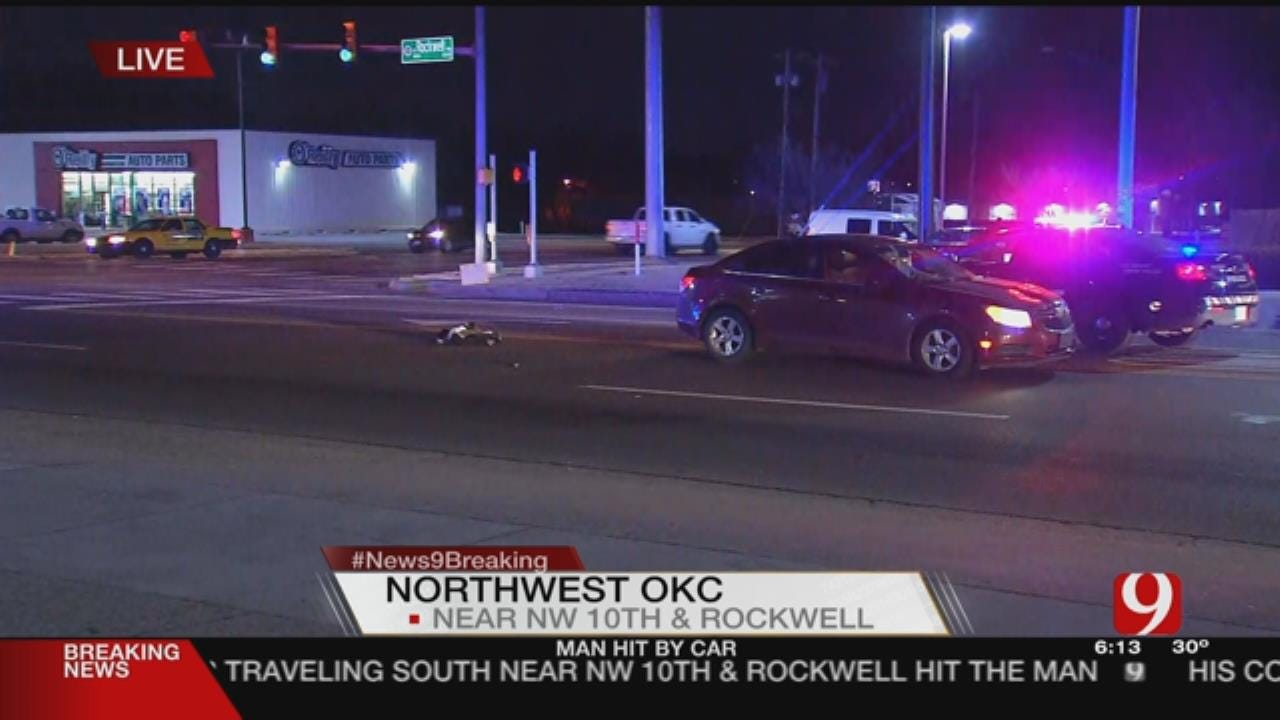 1 Transported Following NW OKC Auto-Ped
