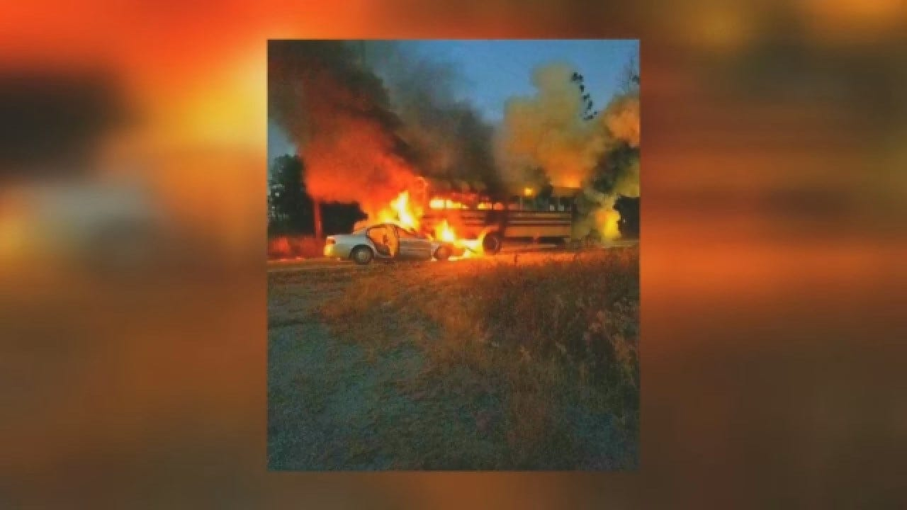 Heroic School Bus Driver Rescues 40 Students From Fiery Wreck