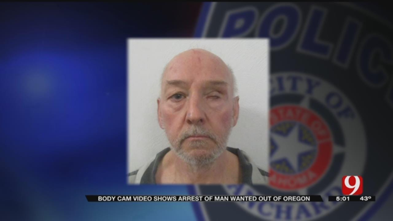 WATCH: Blanchard Police Arrest 'Violent' Man Wanted Out Of Oregon