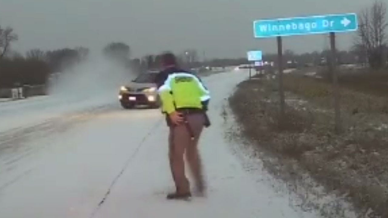 Deputy Nearly Struck By Out-Of-Control Car