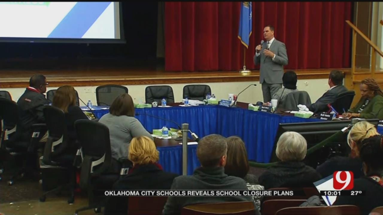 OKCPS Releases 3 'Pathways To Greatness' Plans For School Closures