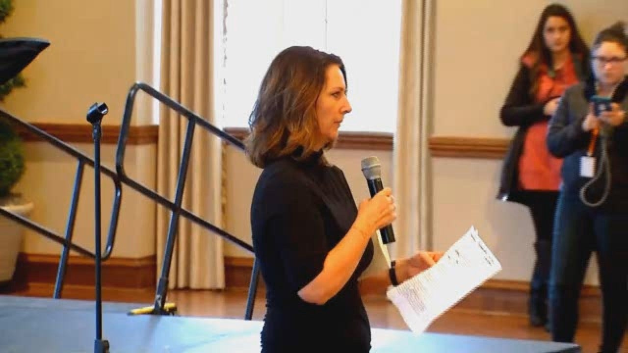 Former Dean Suzette Grillot's Full Speech At OU Campus Rally