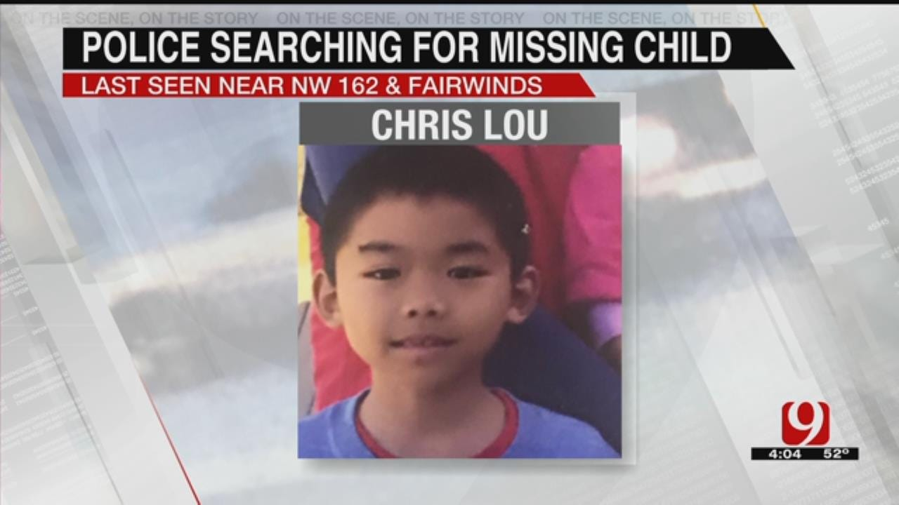 OKC Police Searching For Missing 11-Year-Old