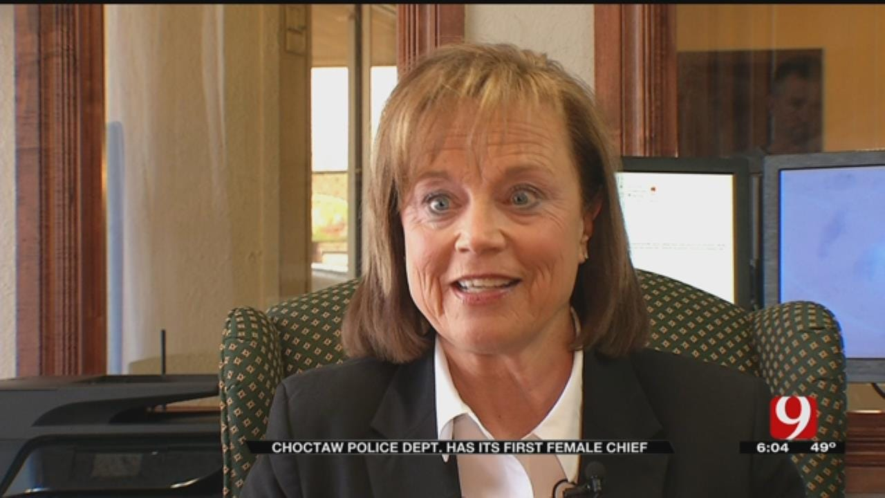 Oklahoman Makes History As Choctaw Police Department's First Female Chief