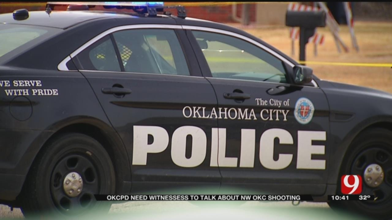 Police Search For Suspects In NW OKC Shooting Of Young Man