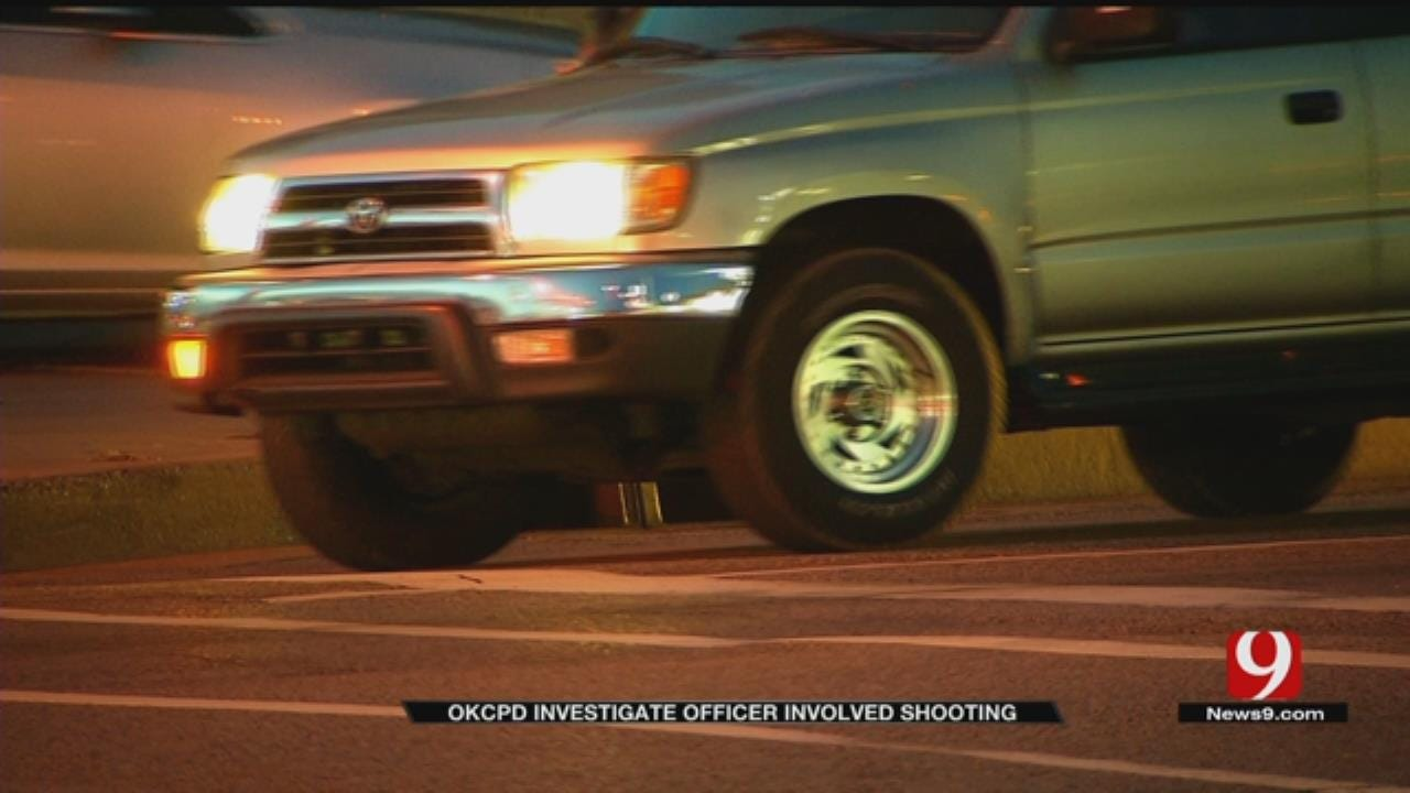 Suspect Speeds Off After Shooting At Officer