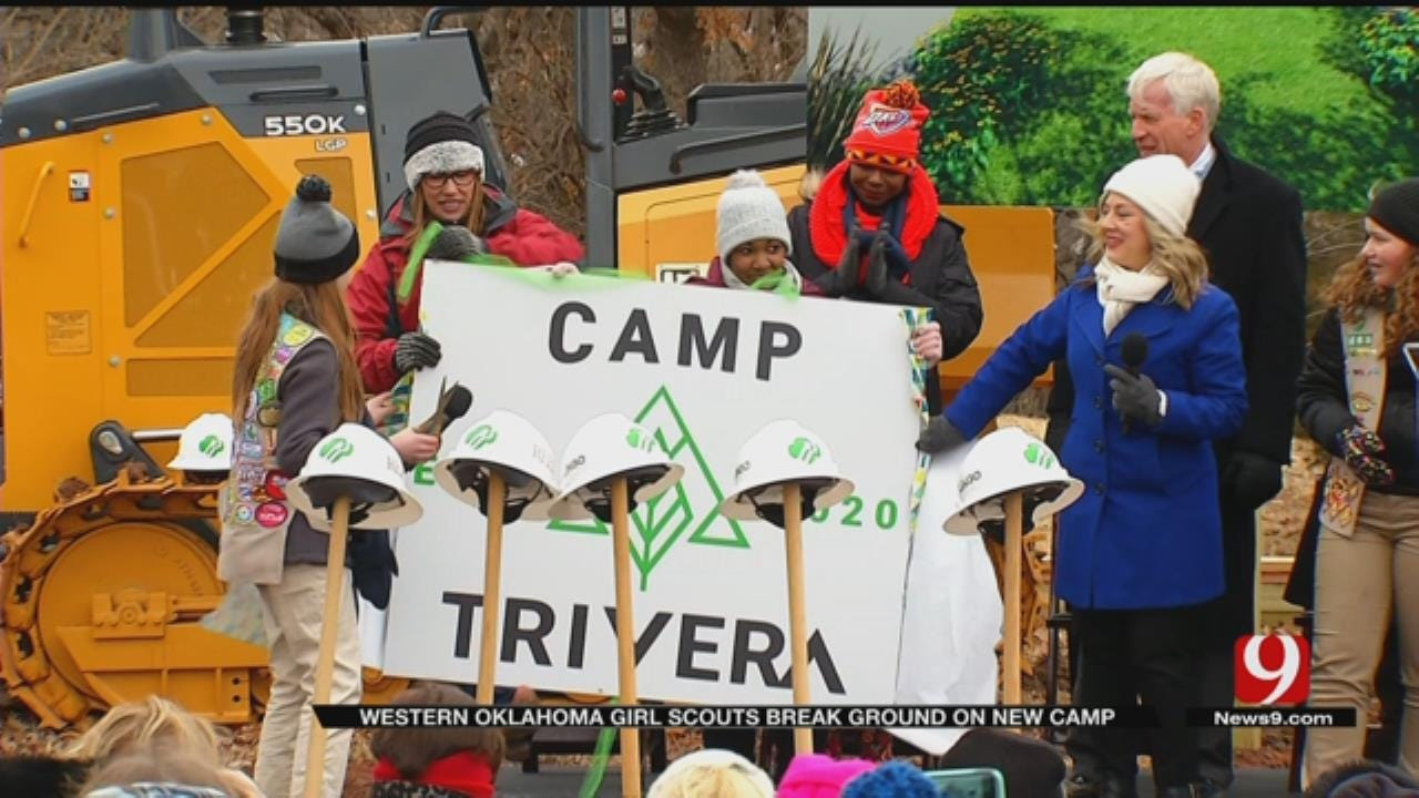 Girl Scouts Break Ground on New STEM Camp