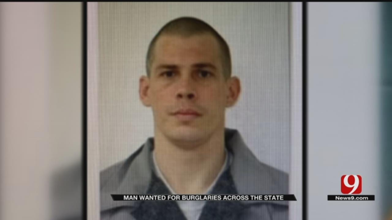 Man Wanted For Multiple Burglaries Across Oklahoma