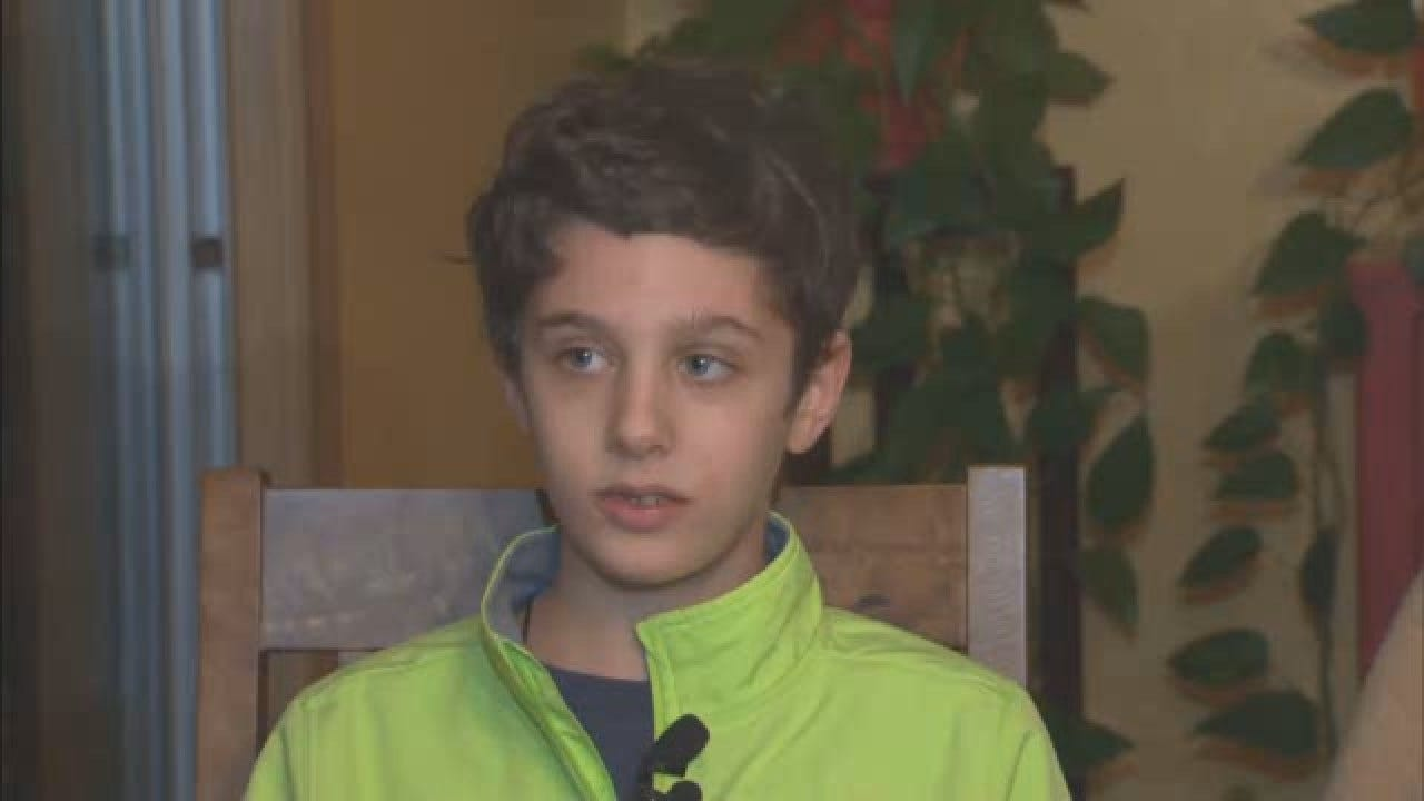 Heroic 12-Year-Old Grabs Wheel When Grandfather Suffers Stroke While Driving
