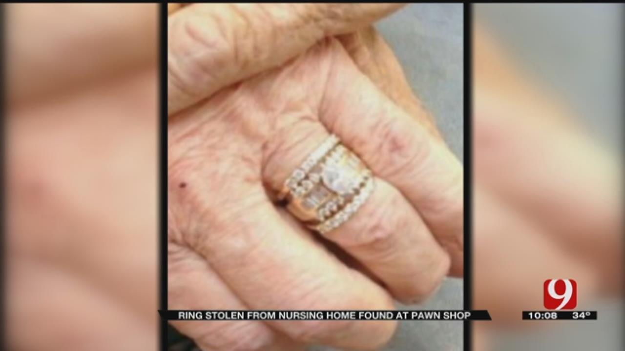 Elderly Woman's Stolen Wedding Ring Found At OKC Pawn Shop
