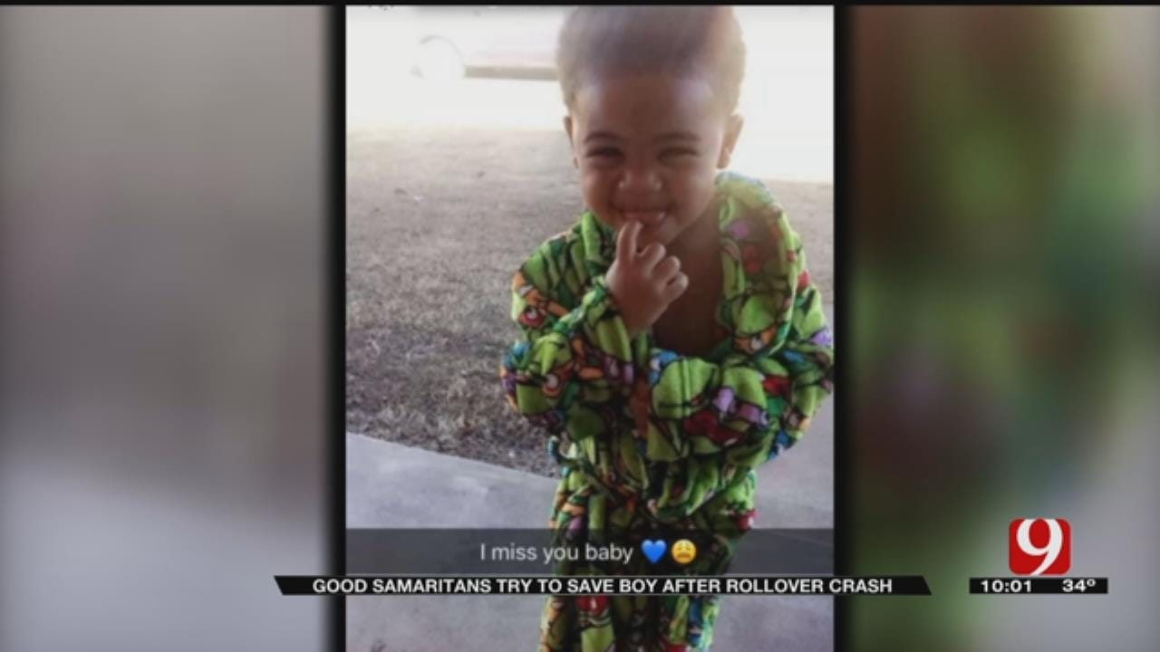 OHP Releases 911 Call Of Good Samaritan's Attempt To Save Toddler After Rollover Crash