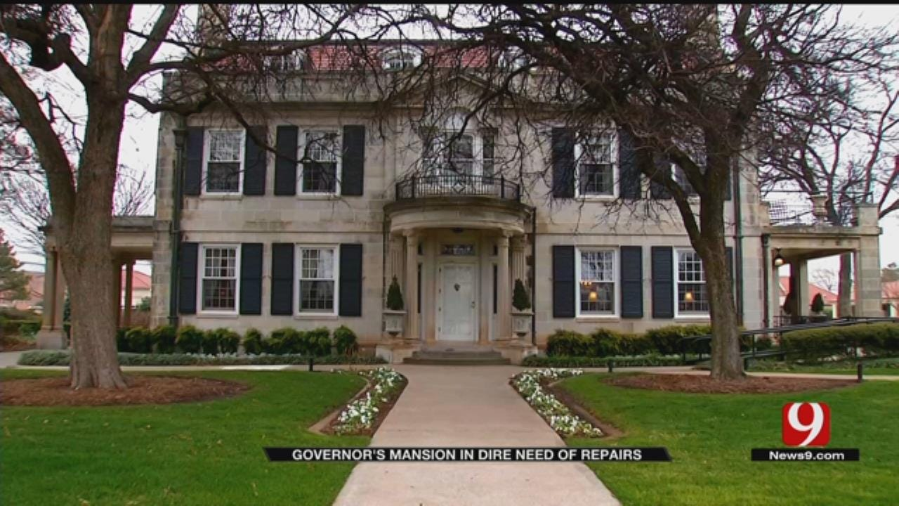 Oklahoma Governor's Mansion In Dire Need Of Repairs