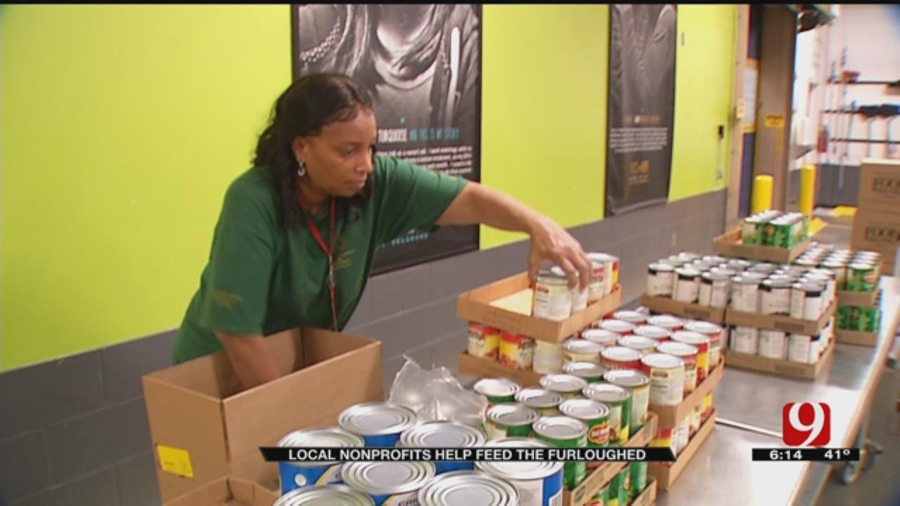 Oklahoma Nonprofits Distributing Food At State Fair Park For Furloughed Federal Workers