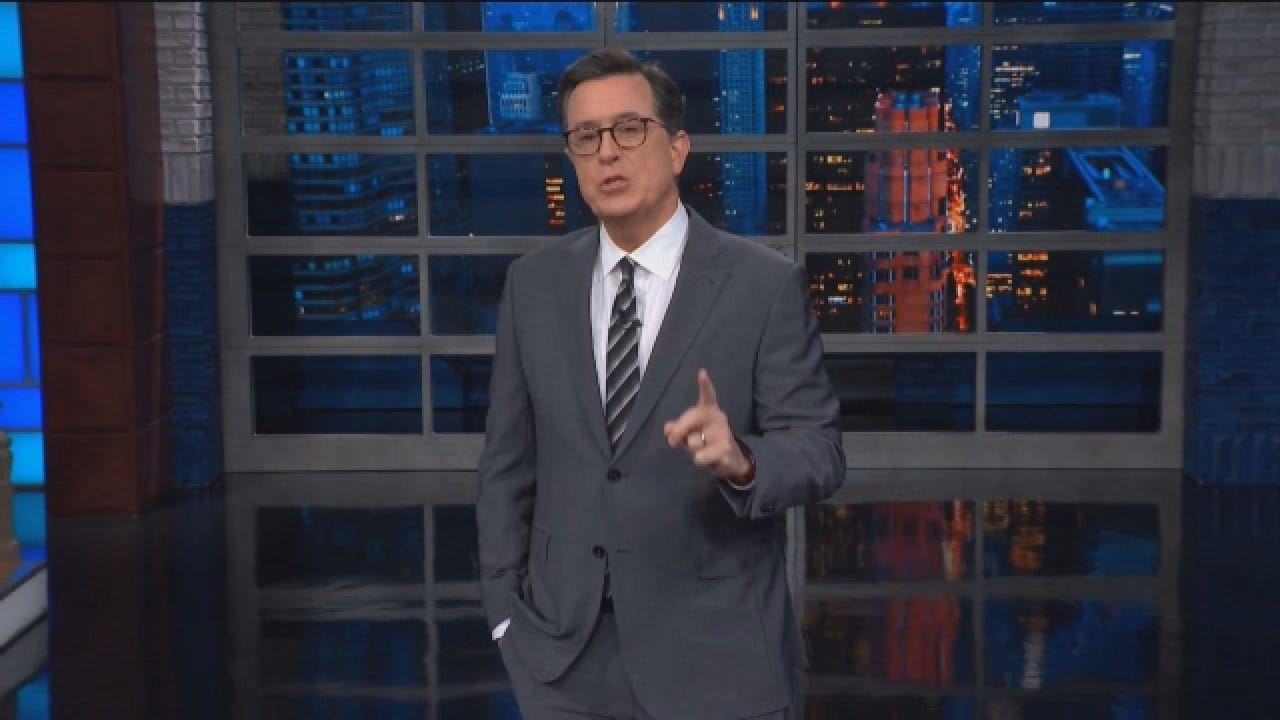 Stephen Colbert Talks Government Shutdown, State Of The Union On 'The Late Show'