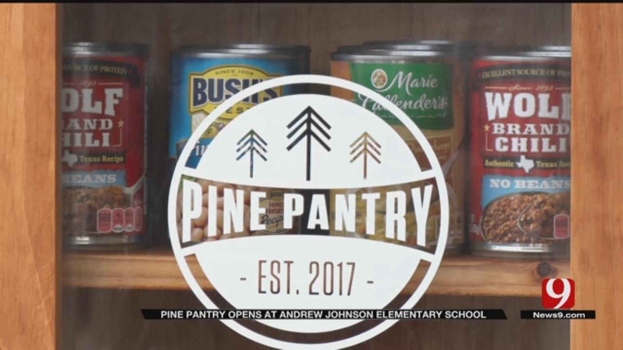 Andrew Johnson Elementary School Opens Pine Pantry For Community