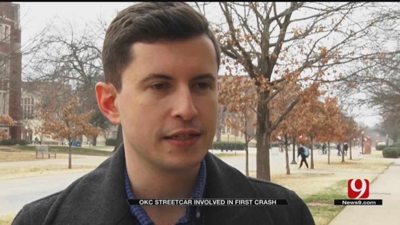 Passengers React To OKC Streetcar Crash