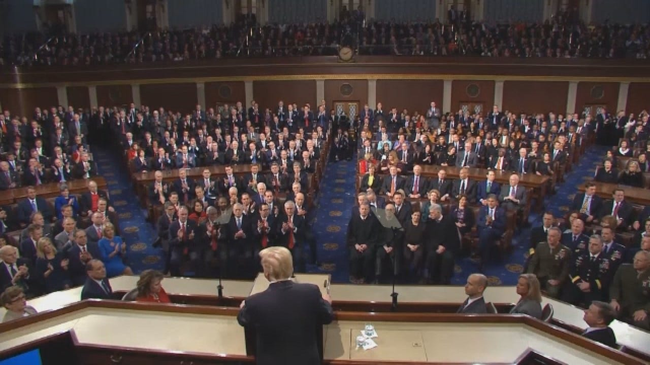 Shutdown Standoff Continues, Prompts State Of Union Delay Request