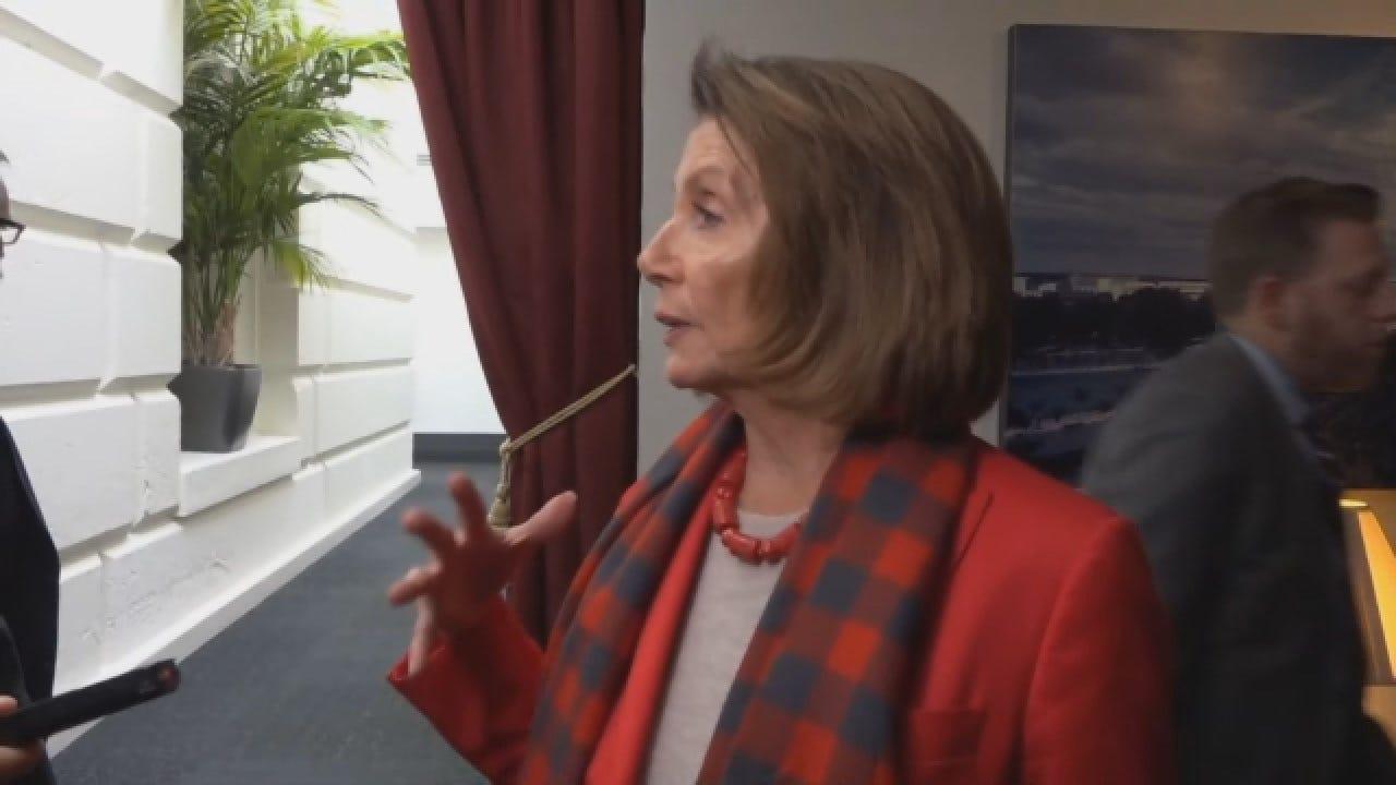 House Speaker Nancy Pelosi Asks Trump To Delay State Of Union Address