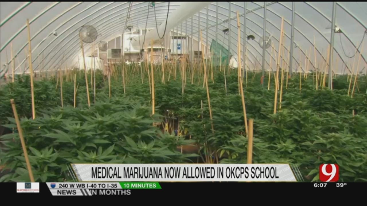 OKCPS Officials Vote To Allow Medical Marijuana On School Grounds