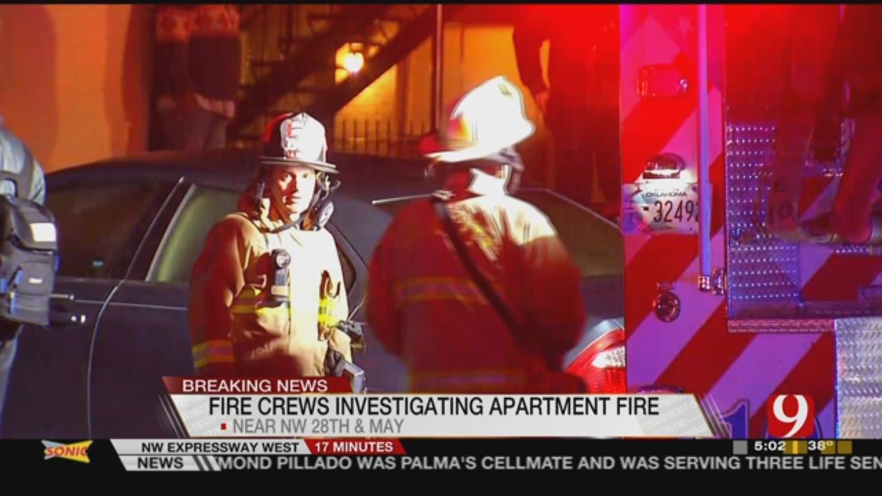 Cause Of Overnight OKC Apartment Fire Under Investigation