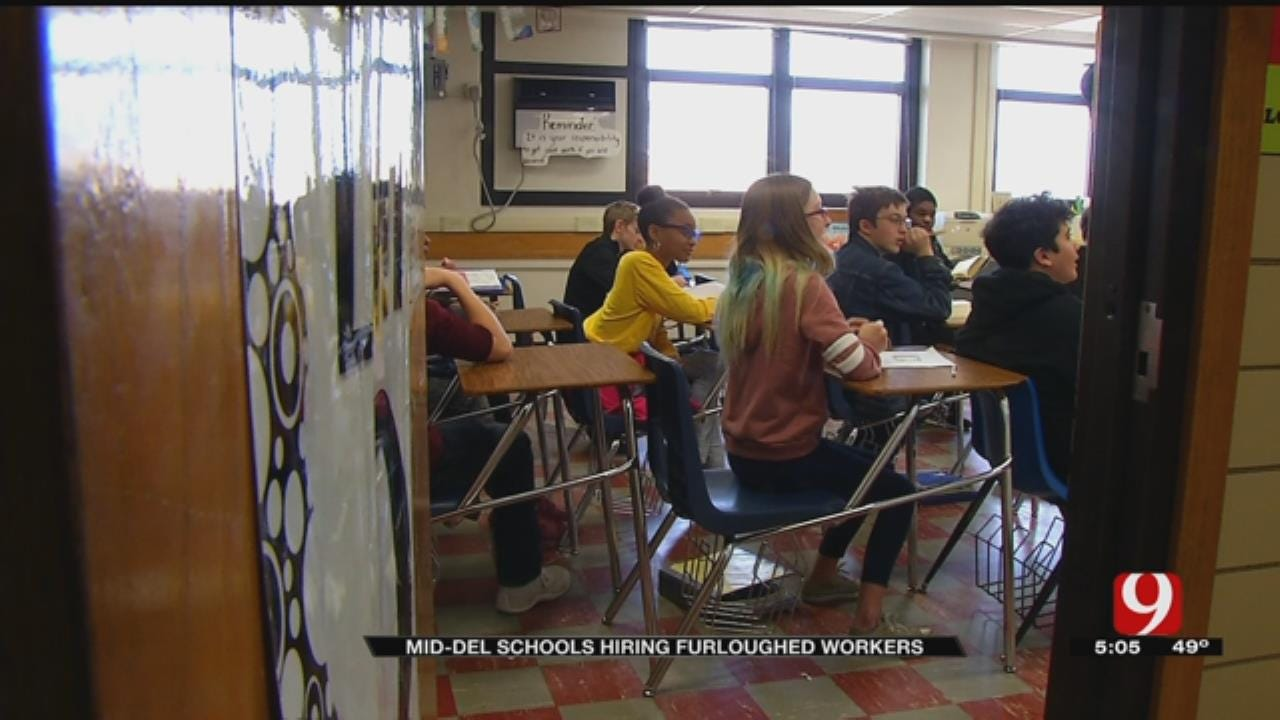 Mid-Del Superintendent Offers To Hire Furloughed Federal Workers As Substitute Teachers