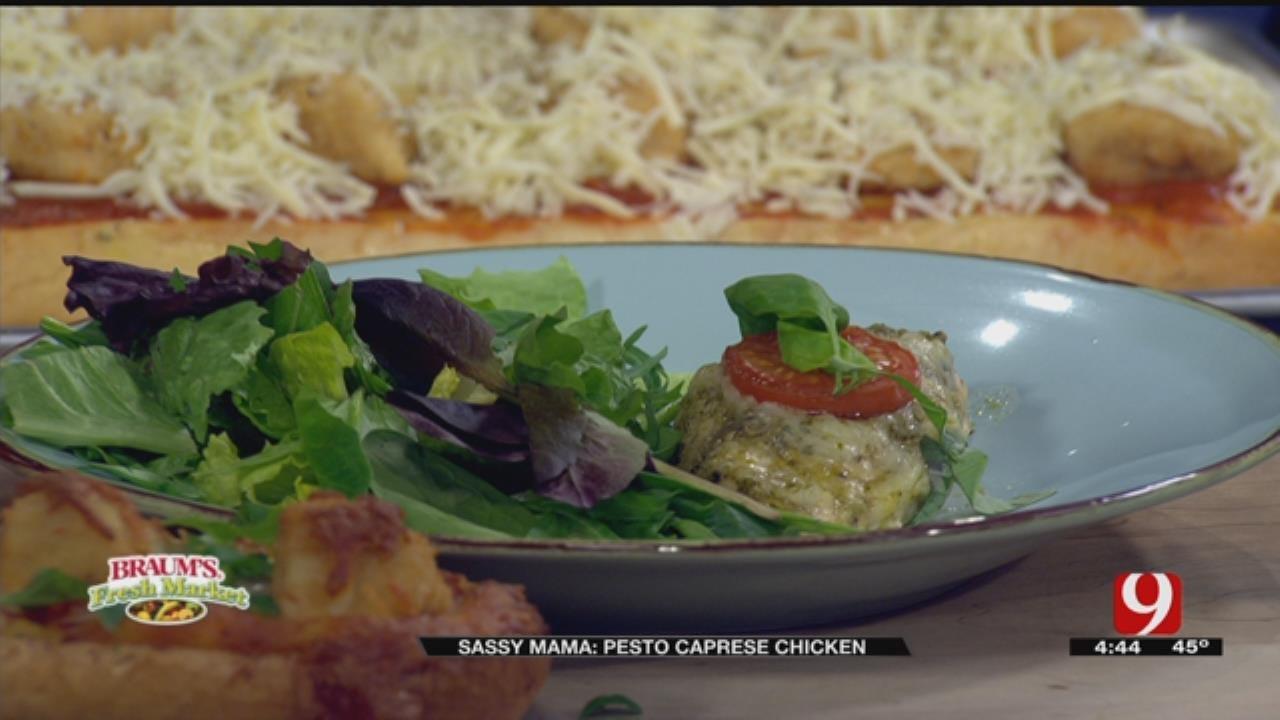 Pesto Caprese Chicken