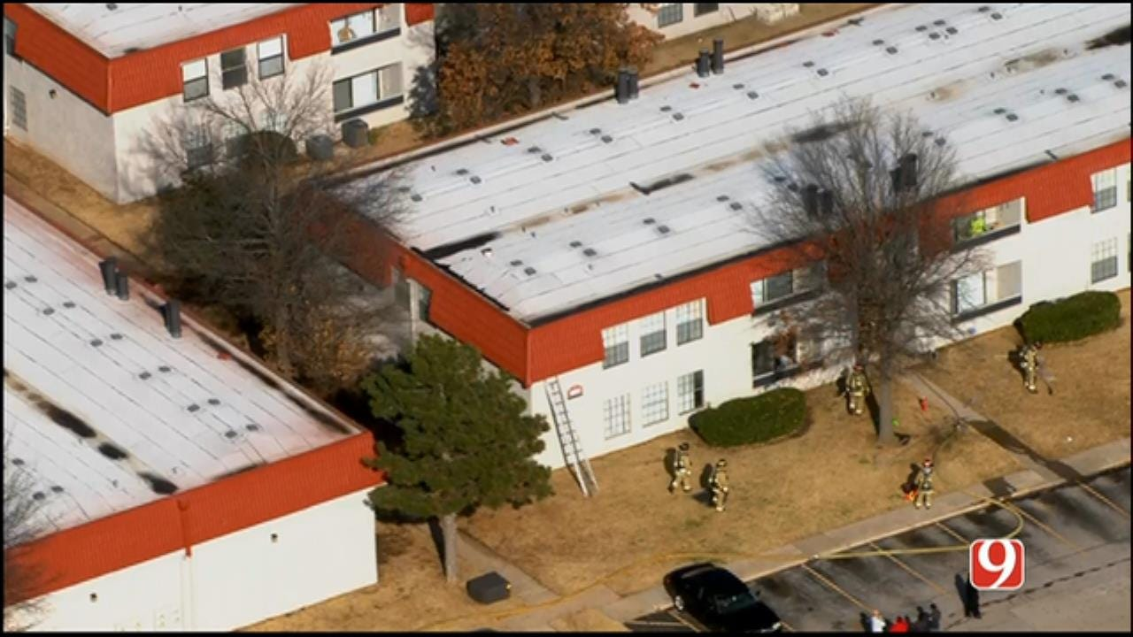 Firefighters Quickly Extinguish NW OKC Apartment Fire