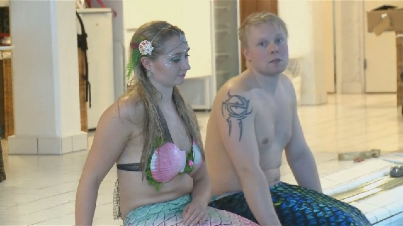 Classes Offered To Adults Wanting To Swim Like A Mermaid