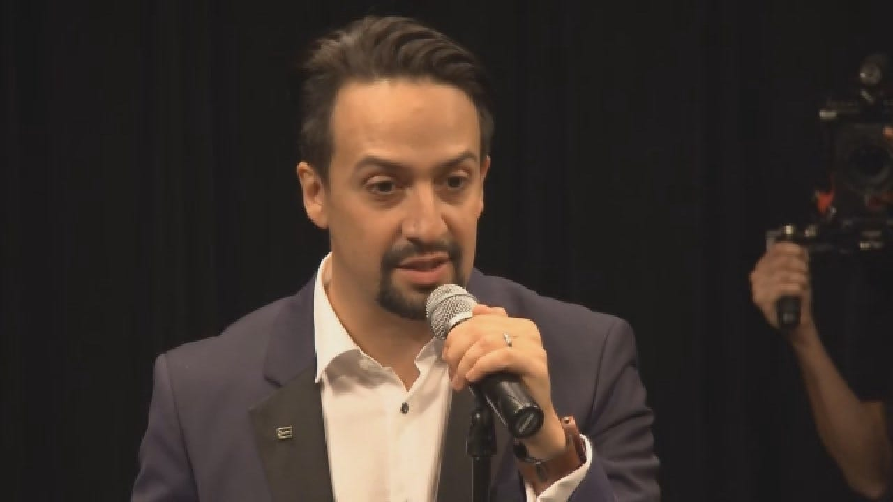 'Hamilton' Opens In Puerto Rico As Democratic Delegation Visits