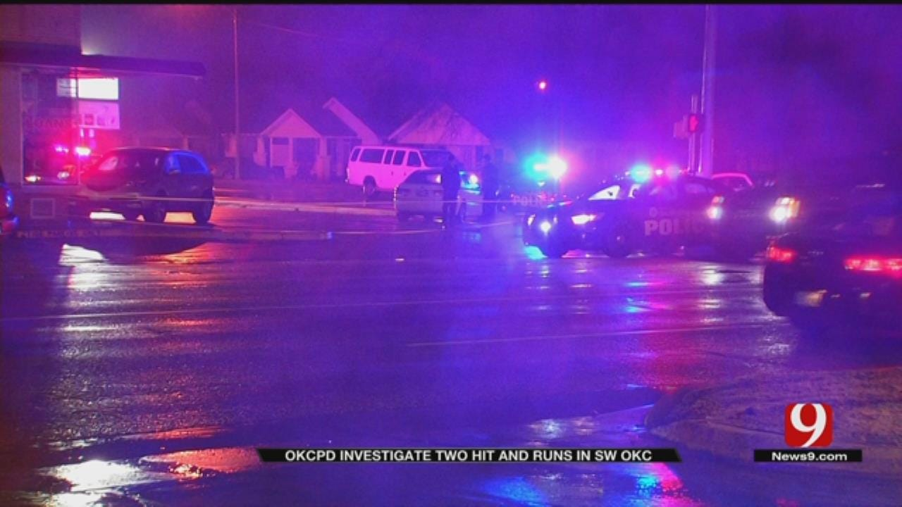 OKC Police Searching for Two Hit and Run Suspects
