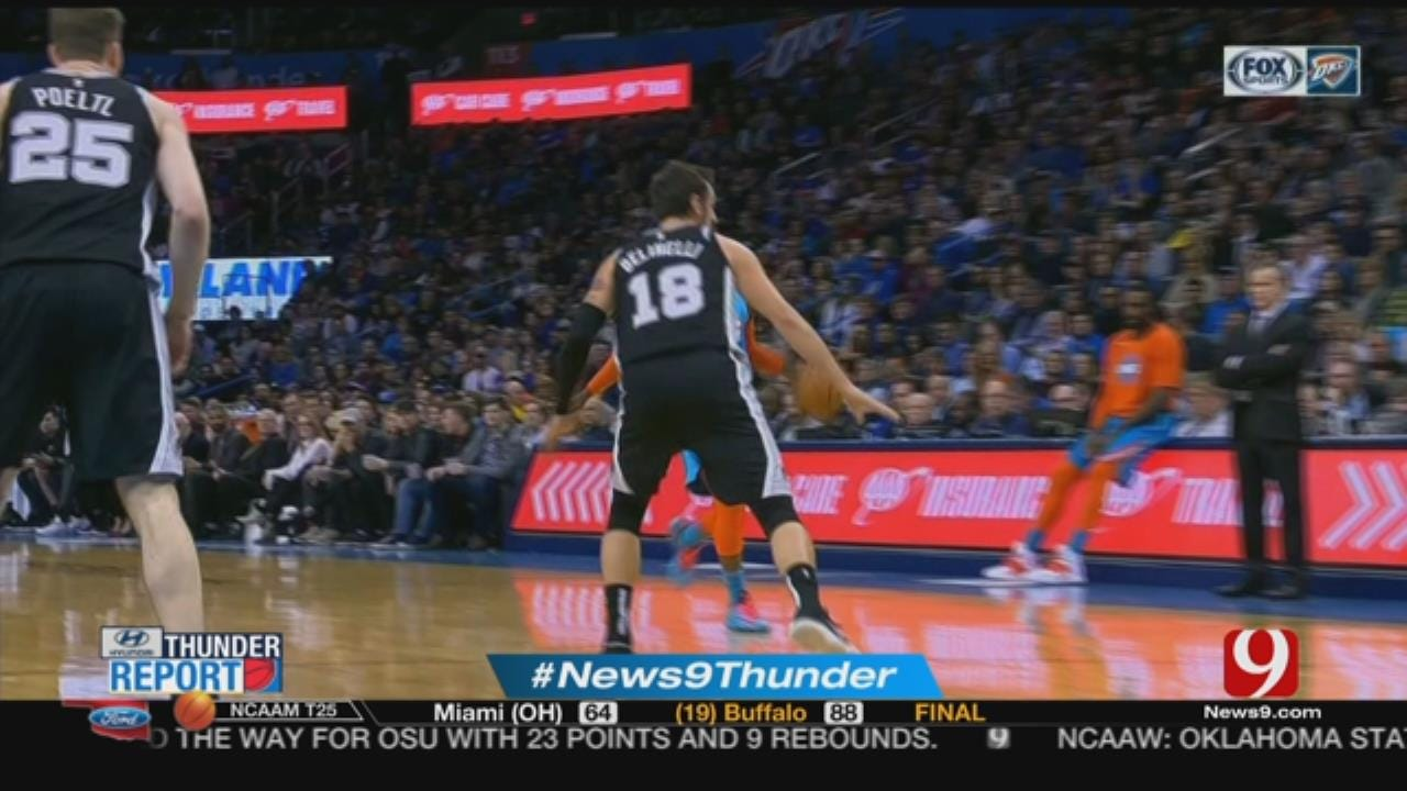 Steve McGehee Talks Thunder Win Against Spurs