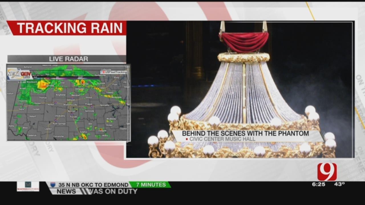 News 9 Gets An Inside Look At Phantom Of The Opera