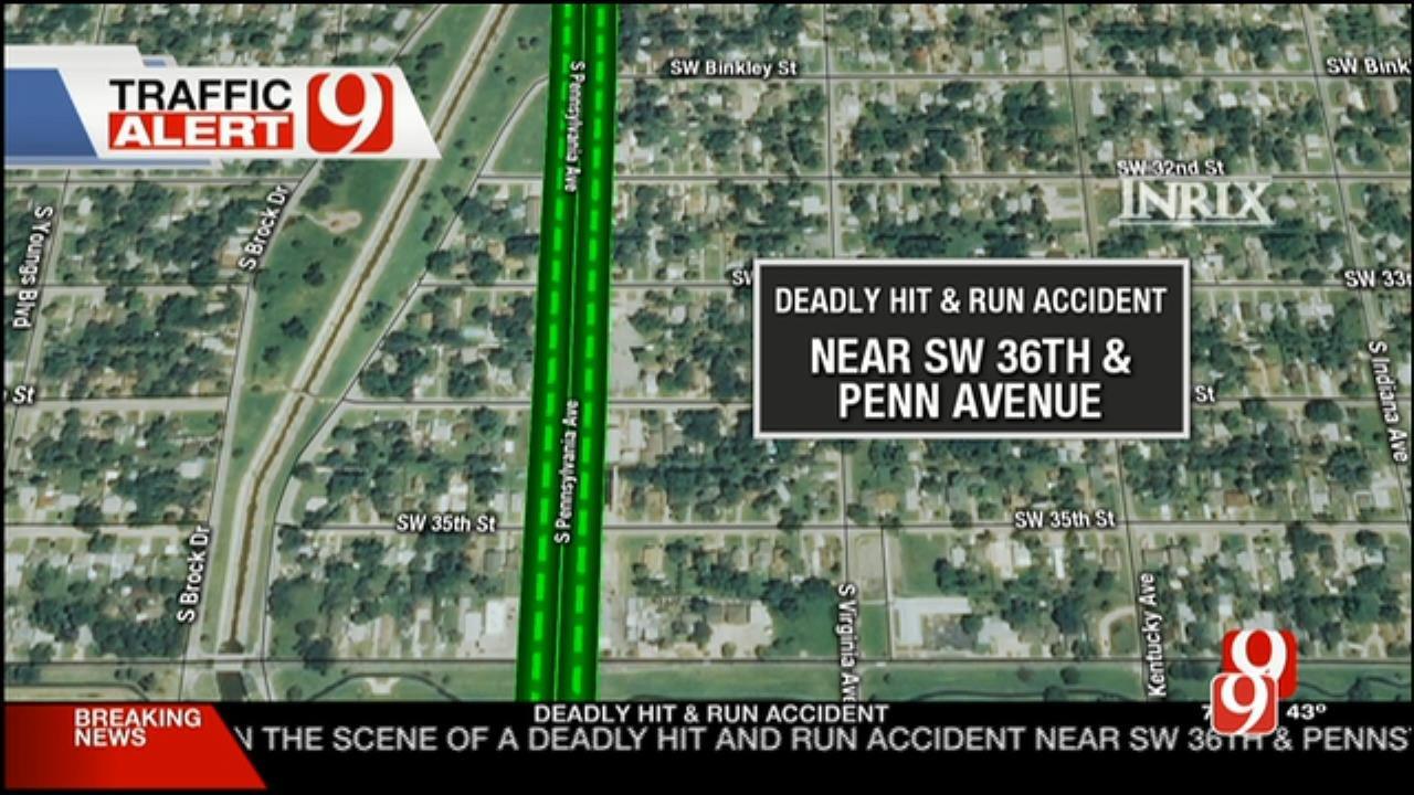 1 Dead Following SW OKC Auto-Pedestrian Accident