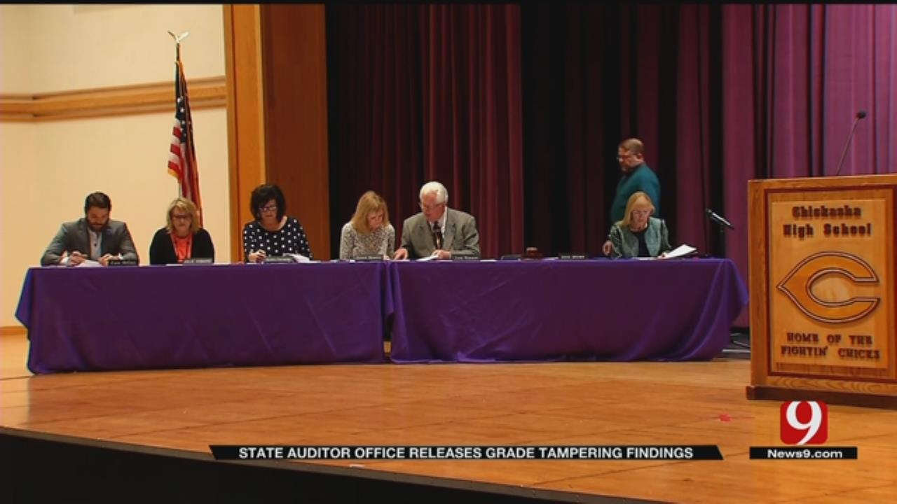 State Auditor Office Releases Chickasha Grade Tampering, Misuse Of Funds Findings