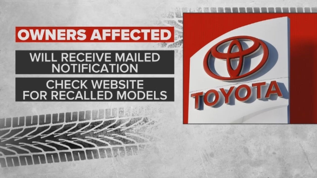 Toyota Recalls 1.7 Million Vehicles In North America
