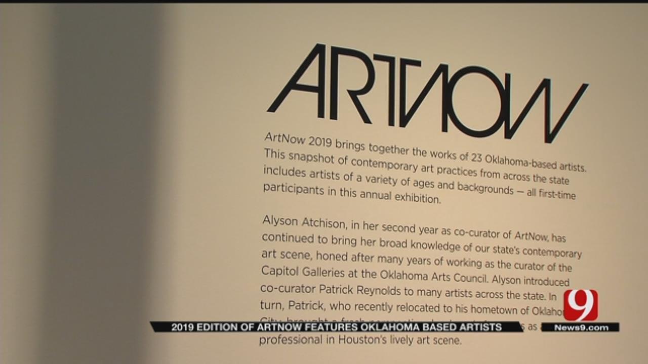 Contemporary Art Exhibit Focused On Oklahoma Artists