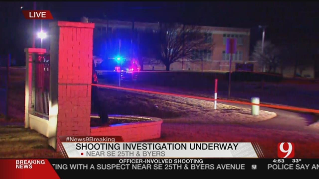 Police Respond To SE OKC Officer-Involved Shooting