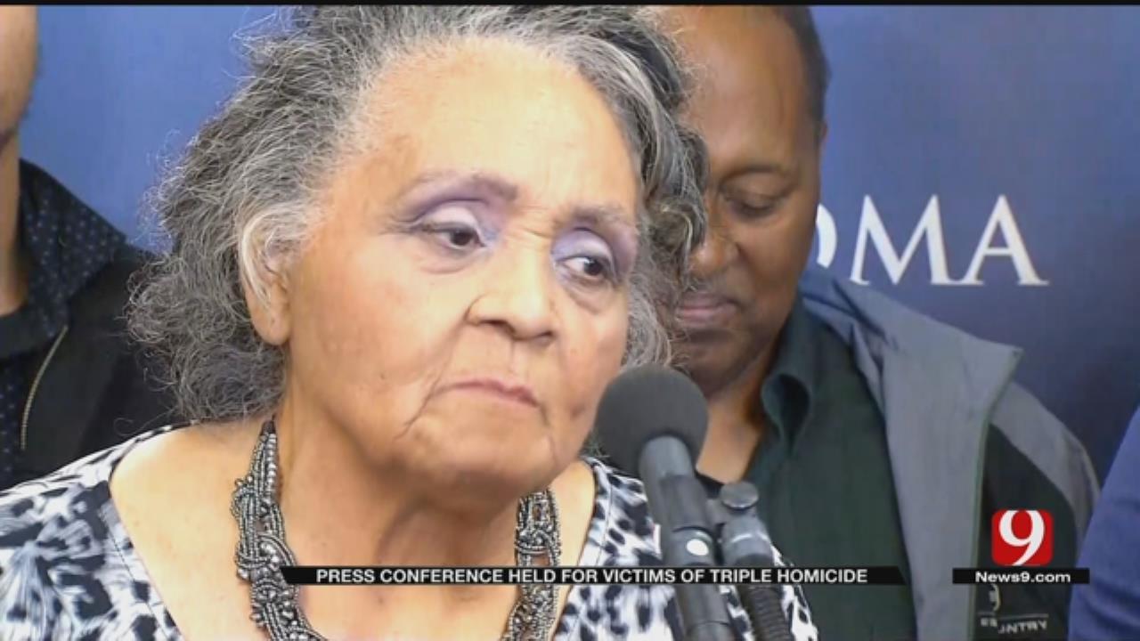 Family Pleas For Help In Solving Triple Homicide In NE OKC