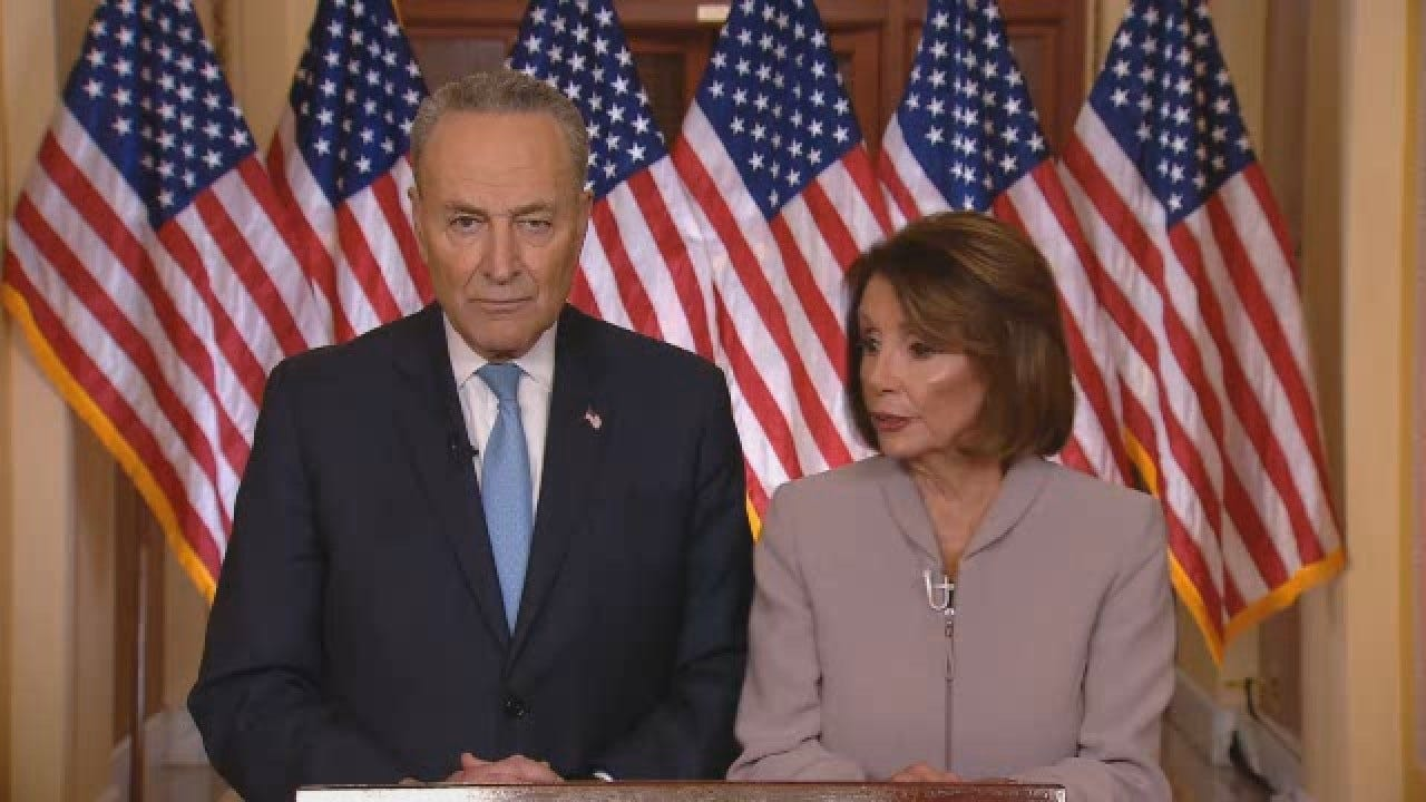 WATCH: Chuck Schumer Delivers Democrats Response To Trump's Address