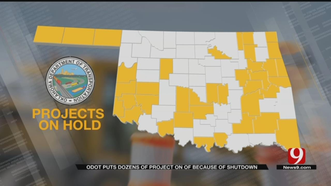ODOT: Crews Could Lose 'Weather Window' For Projects If Shutdown Continues