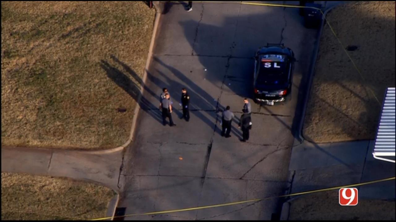 Bob Mills SkyNews 9 Flies Over Shooting Investigation In NE OKC