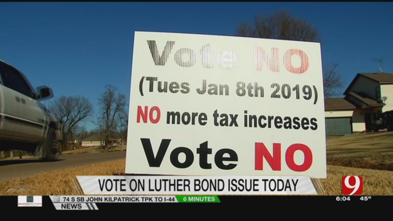 Voters In Luther To Decide On School Bond Issue