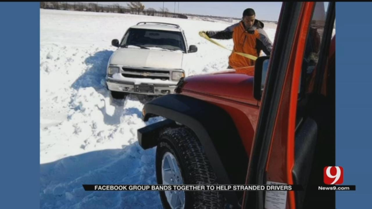 Facebook Group Bands Together To Help Stranded Drivers