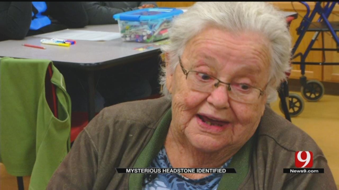 Family Happy After OKC Students Help Identify, Restore Headstone Of Late Grandmother