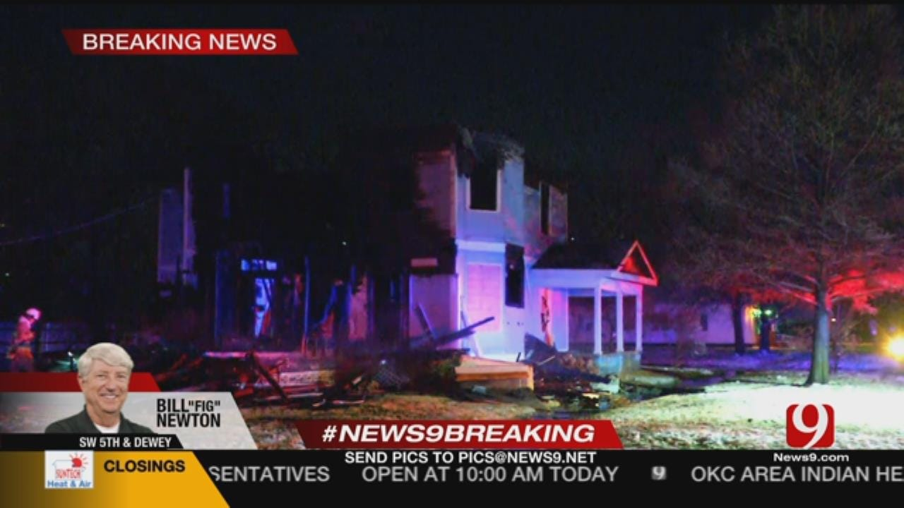 WATCH: Firefighters Respond To House Fire In SW OKC